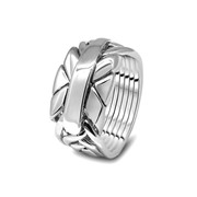 Серебряный мужской перстень от Wickerring фото