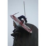 Монтаж и демонтаж спутниковой антенны фото