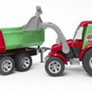 Трактор Roadmax с фронтальной погрузкой+прицеп 20116 фото