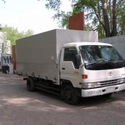 Тент на грузовик японский фото