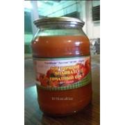 Соки натуральные томатный в стекло банка (1 и 3 литровая)
