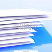 Бумага для печати с двухсторонним покрытием фото