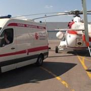 санитарная транспортировка лежачих больных. фото