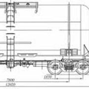 Ремонт 4-осной цистерны для бензина и других светлых нефтепродуктов фото