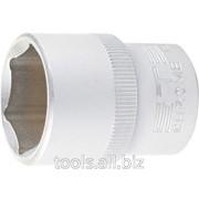 Головка торцевая, 27 мм, 6-гранная, CrV фото