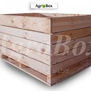Деревянный контейнер 1200х800х740 мм фото