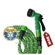 Комплект поливочный Trick Hose 5-15м зеленый WTH515GR фото