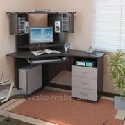 Компьютерный стол KC 20-17 М2 Венге/дуб молочный фото