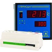 Измеритель температуры Термодат-22М5 - 12 универсальных входов, 12 реле, 2 аварийных реле, интерфейс RS485