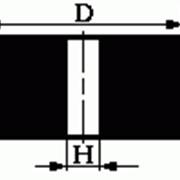 Круги из кубического нитрида бора (КНБ) на керамической связке формы А8 (плоские, прямого профиля, без корпуса) фото