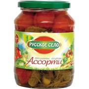 Ассорти томаты-огурцы фото
