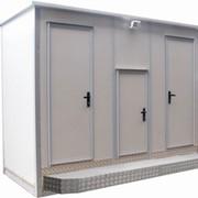 Модуль-павильон туалетный Городовой 202.2 фото