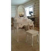 Туалетный столик и банкетка в стиле Прованс фото