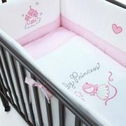Нежный постельный комплект Funnababy Princess (5 предметов) фото