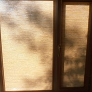 Ролл шторы из бамбука фото