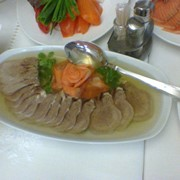 Заливное из языка в ресторане Bachus Dava фото