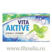 Жевательная резинка без сахара VITAAKTIVE со вкусом перечной мяты №12 фото