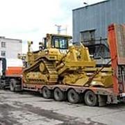 Перевозка спецтехники и негабаритных грузов фото