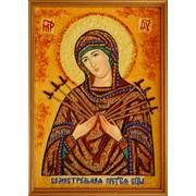 """Икона """"Семистрельная Богородица"""" (15х20 декоративная рамка) фото"""