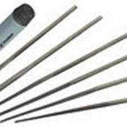 ЗУБР 16053-H6 Набор надфилей с зажимной пластмассовой ручкой фото