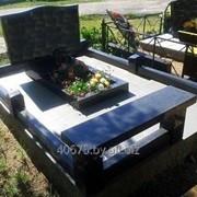 Благоустройство мест захоронения, могил фото