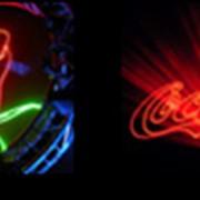 Организация графического лазерного шоу, объемного лазерного шоу при проведении концертов фото