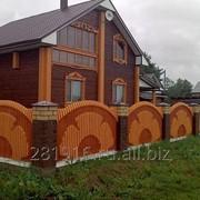 Деревянный дом из проф.бруса фото