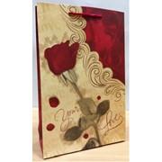 Пакет подарочный, сумочка подарочная, 17,5см * 26см * 7см фото