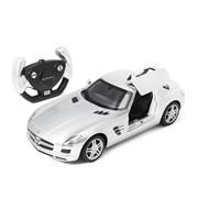 Mercedes-Benz SLS RASTAR, 1:14 радиоуправляемая модель, Джойстик, Серебристый фото