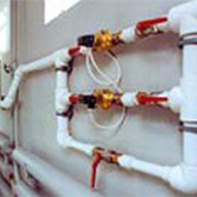 Монтаж внутренних инженерных сетей фото