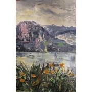 "Пейзаж ""В горах Швейцарии"" фото"