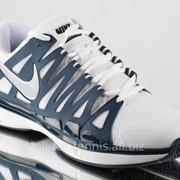Теннисные кроссовки NIKE Zoom Vapor 9 Tour (White/Stadium Grey) фото