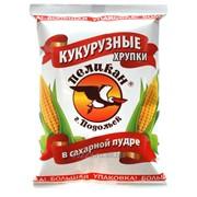 """Кукурузные хрупки в сахарной пудре """"Пеликан-Великан"""" фото"""