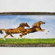 Картина 30*70 Н Золотая рамка фото