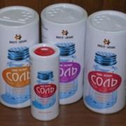Комбинированная картонная банка для сыпучих продуктов (соль,специи) фото