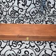 Набор подарочный 3, шампуры для шашлыка с деревянными ручками фото