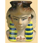Аромалампа керамическая Клеопатра фото