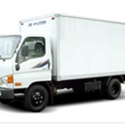 Фургоны HD65 фото