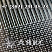 Сетка 20х20х3.6 тканая нержавеющая стальная ГОСТ 3826-82 2-20-3.6 с квадратными ячейками фото