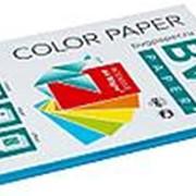 BVG Paper Бумага цветная BVG, А4, 80г, 100л/уп, голубая, интенсив фото