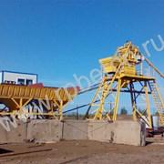 Бетонный завод Китай (бетоносмеситель) фото