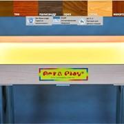 Стол для песочной анимации и терапии со светодиодной подсветкой фото