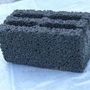 Фундаментный керамзитобетонный блок 900 х 500 х 600 мм фото