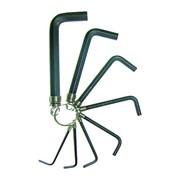 БИБЕР 90501 Набор инбусовых ключей на кольце 2-10мм (набор 8шт) (25/100) фото