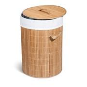 Корзина для белья Tatkraft Vesta, бамбук фото