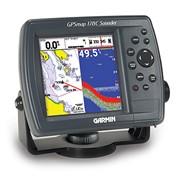 Картплоттер совмещенный с эхолотом GPSmap 178C фото