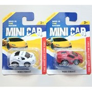 Машина инерционная MiniCar на карт.,100733457/27233 фото