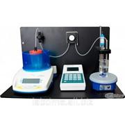 Комплект для автоматического кислотно-основного титрования водных сред Титрион-рН (в составеТитрион-1, рН-электрод ЭСК-10601,комплект стандарт-титров рН) фото