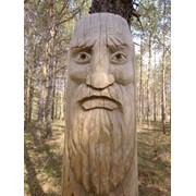 Деревянные фигуры фото
