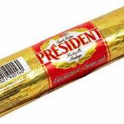 Масло Президент в рулоне 250г фото